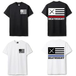 【予約商品】7月入荷予定FLAGS TEES / BLACK,WHITE