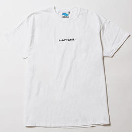 I CAN'T SLEEP [ TEE ] / WHITE