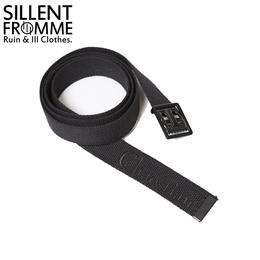 CHAOSTIAN -Web Belt- / BLACK-BLACK