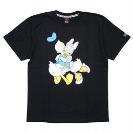 Donald&Daisy T-SHIRT / BLACK