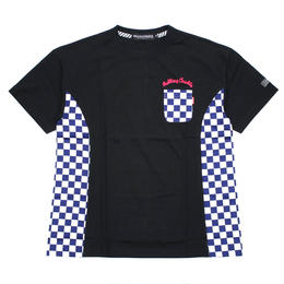 RC CHECKER BIG Tee / BLACK