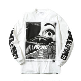 -PROVE- LONG SLEEVE TEE / WHITE