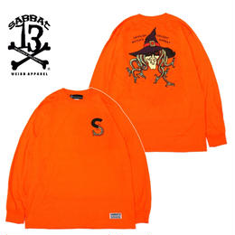 SERPENT WITCH L/S T / ORANGE