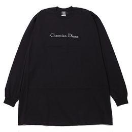 DIANA -Outsize Long Sleeve- / BLACK