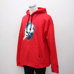 -REFLECTED- HOODIE / RED