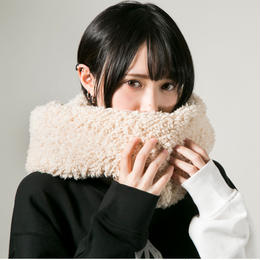 "HEDWiNG スヌード ""Fluffy Snood"" / BEIGE"