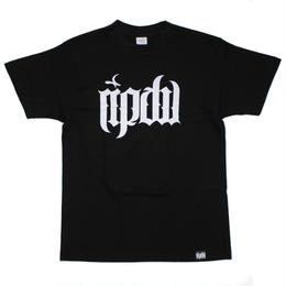 ripdw LOGO T-Shirt / BLACK