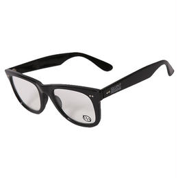 SELMA -Sunglass- / BLACK-CLEAR