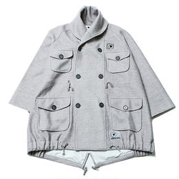 "SILLENT ミリタリーコート ""WANDER -Military Coat-"" / GRAY"