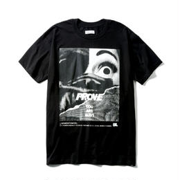 -PROVE- EXTRA BIG TEE  / BLACK