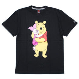 Pooh&Piglet T-SHIRT / BLACK