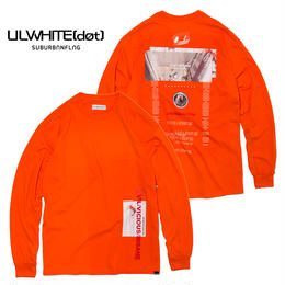 -MYTH- LONG SLEEVE TEE  / ORANGE