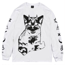 Little Devil L/S TEES / WHITE