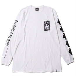 SACRIFICE -Long Sleeve- / WHITE