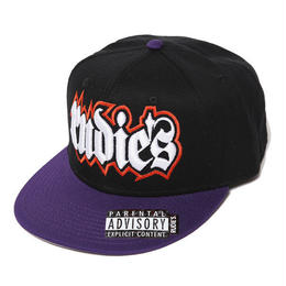 SPARK SNAPBACKCAP / BLACK-PURPLE