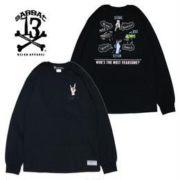 JANKEN L/S T / BLACK