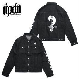 WHY SO POP? BLACK DENIM JACKET