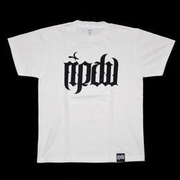 ripdw LOGO T-Shirt / WHITE