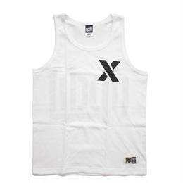 SPRAY LOGO TANK TOP / WHITE