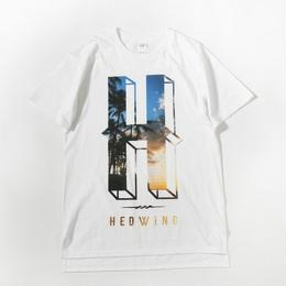 Seaside Big H T-shirt / white