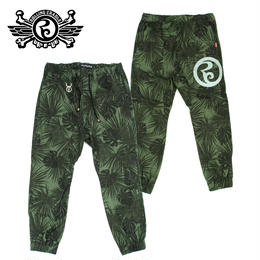 RC JOGGER PANTS / GREEN-BLACK