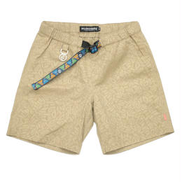 RC×TRANSFORMERS CYBERTRON VS DESTRON SHORTS / BEIGE