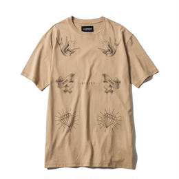 -SOUVENIRS- BIG Tee / BROWN