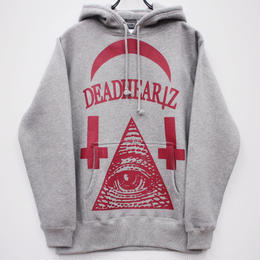 """WORLD"" HOODIE STREET ARTS LIMITED/GRAY"