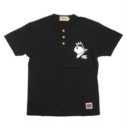 NRS-Henley Neck / BLACK