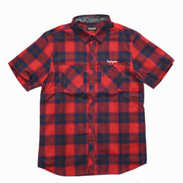 BANDANA SHIRT S/S -TRUST- / RED