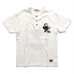 NRS-Henley Neck / WHITE