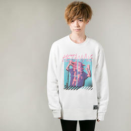 "HEDWiNG クルースウェット ""Sacco"" Sweat / WHITE"