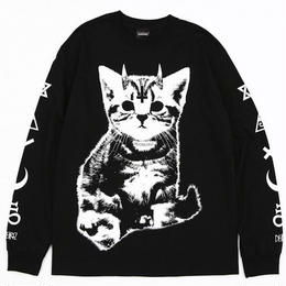 Little Devil L/S TEES / BLACK