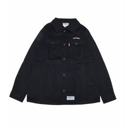 13&BONES SHIRTS JKT / BLACK