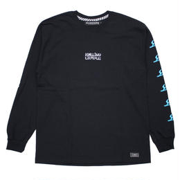 SAMURAI BOP LONG T-SHIRT / BLACK