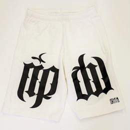 ripdw SWEAT HALF PANTS / WHITE
