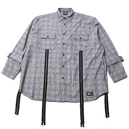 ECHO -Zip Wide Shirts- / GRAY