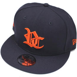 RC LOGO NEW ERA CAP SNAPBACK / NAVY