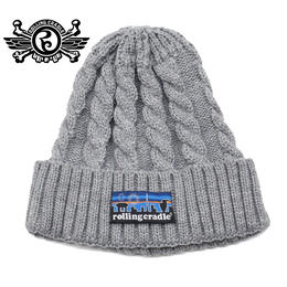 ASAGONIA KNIT CAP / GRAY