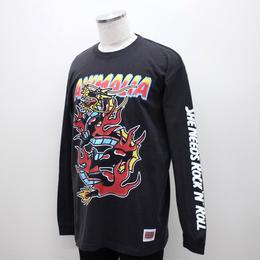 "ANIMALIA ロンT ""DRAGON L/S"" / BLACK"