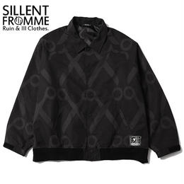 SHEARS -Wide Blouson- / BLACK-BLACK
