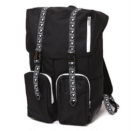 LISBETH -Flip Day Pack- / BLACK-WHITE