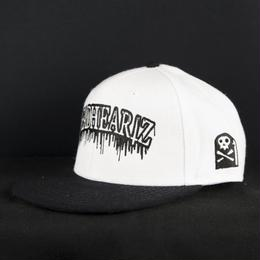 """BLOOD""SNAPBACK WHITE"