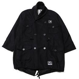 "SILLENT ミリタリーコート ""WANDER -Military Coat-"" / BLACK"
