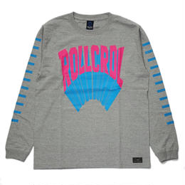 80s 3D LOGO LONG T-SHIRTS / GRAY