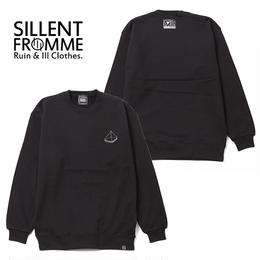 PYRAMID -Crew Sweat- / BLACK
