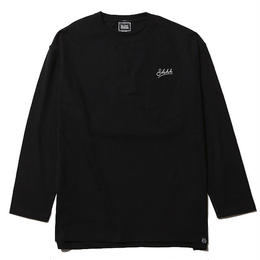WHISPER -Long Sleeve w/Pocket- / BLACK