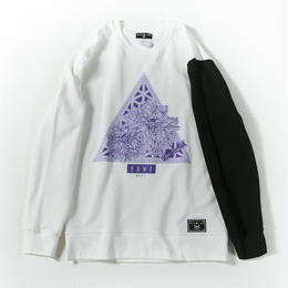 Delta Flower Sweat / WHITE