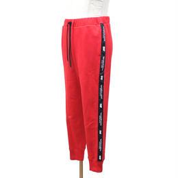 LILWHITE(dot) スウェットパンツ TWISTED- SWEAT PANTS / RED