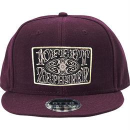 """B.B CAP -10-FEET×Zephyren"" / BURGUNDY"